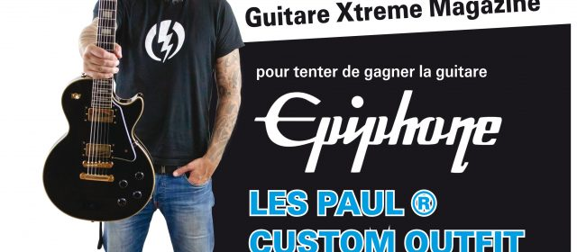 GIVE AWAY EPIPHONE / IN FLAMES
