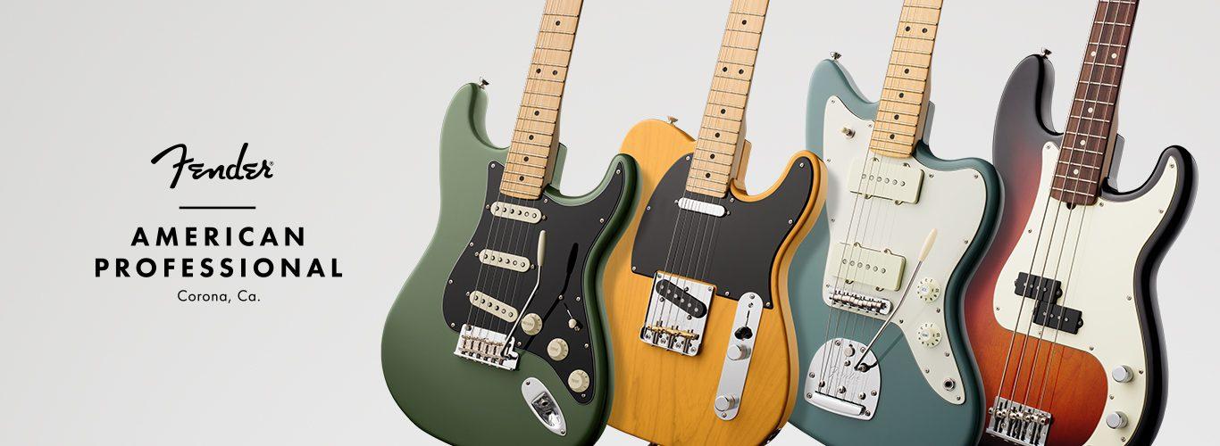 Fender lance la gamme American Professionnal