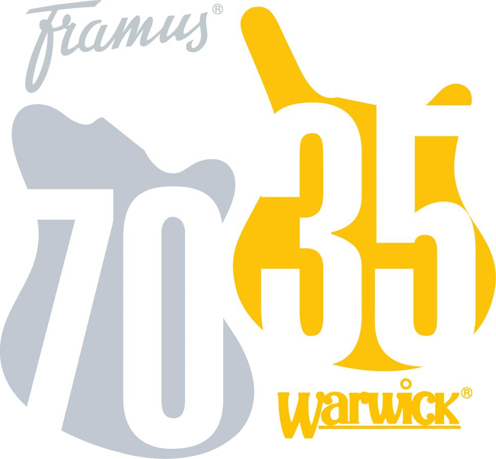 Logo 75th anniversary Framus Guitare Xtreme Magazine