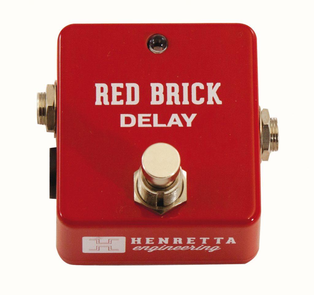 Henretta Red Brick delay Guitare Xtreme Magazine