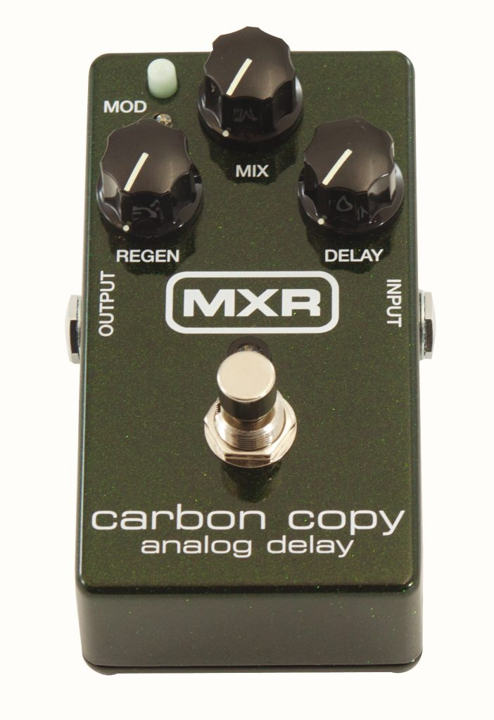 MXR Carbon copy Guitare Xtreme Magazine