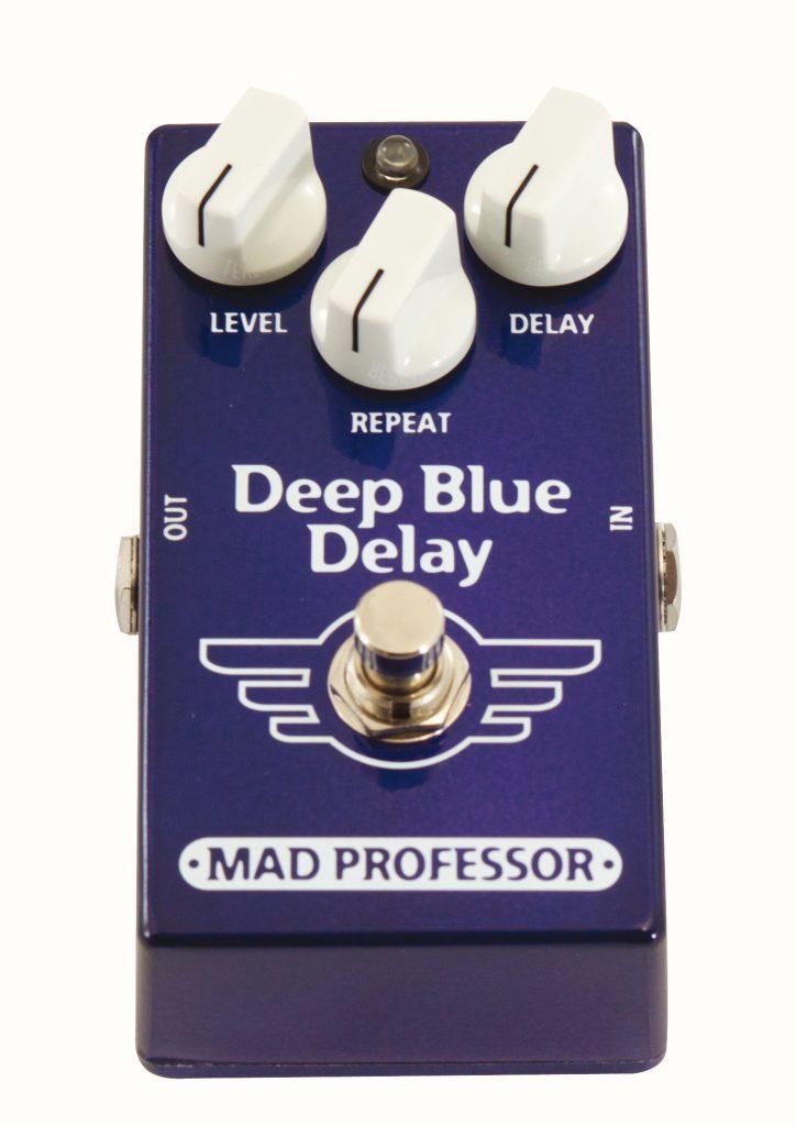 Mad professor Deep Blue Guitare Xtreme Magazine Delay