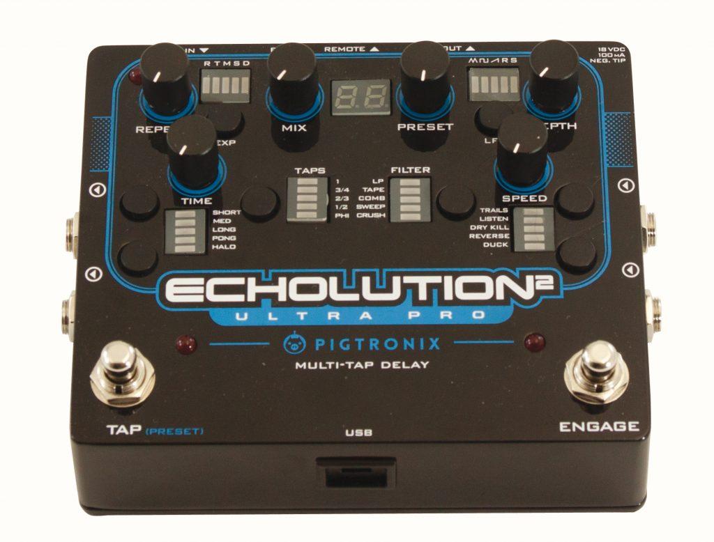 Pigtronix Echolution Guitare Xtreme Magazine