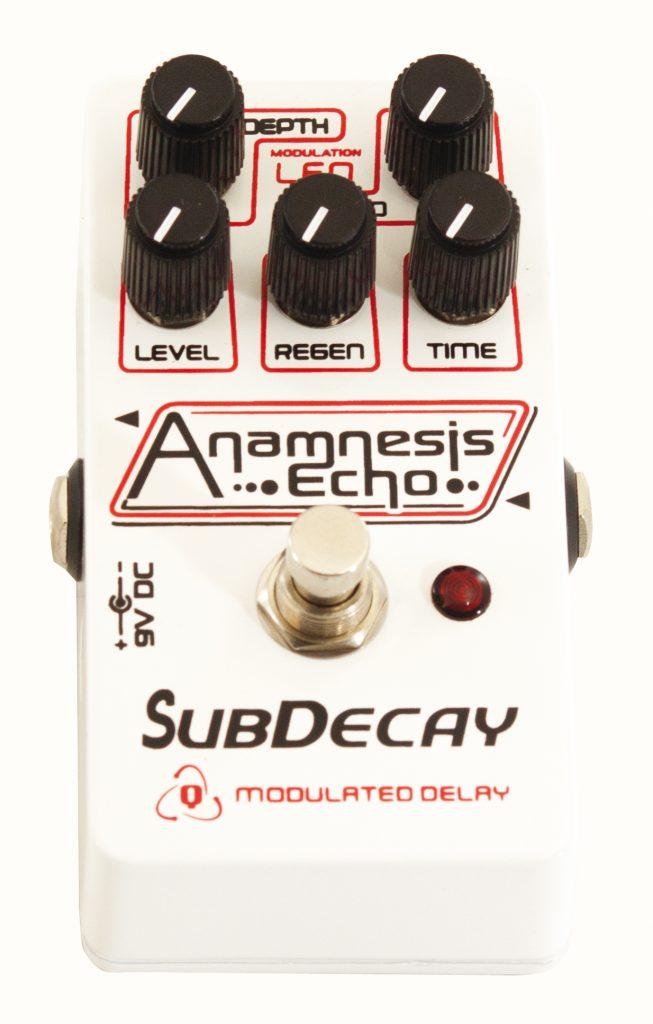 anamnesis SubDecay Guitare Xtreme Magazine