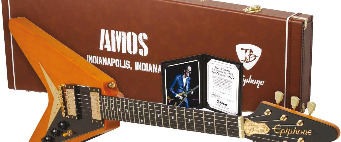 Joe Bonamassa paie sa Flying V