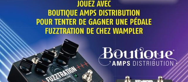 [ GIVE AWAY Boutique Amps Distribution / Wampler ]