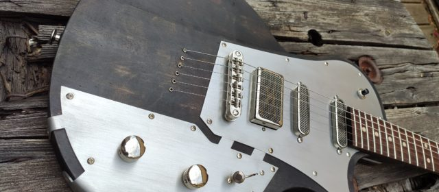 "GAGNEZ LA PISTOL GUITARS ""UNITED MACHINE"""