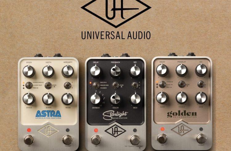 Universal Audio attaque vos pedalboards
