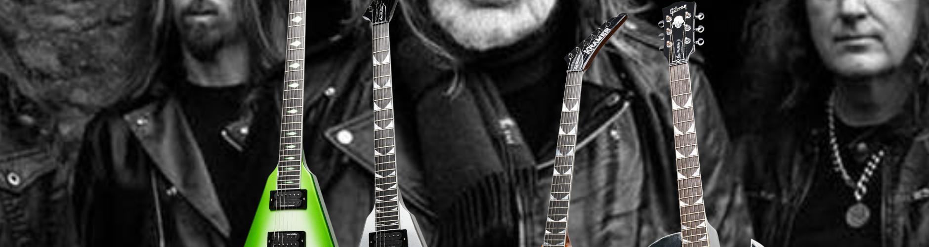 Dave Mustaine chez Gibson : les premiers nouveaux modèles enfin dévoilés
