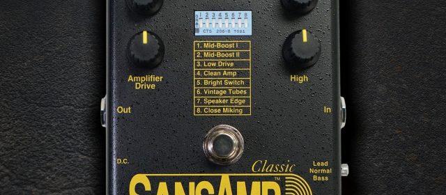Tech 21 : Le SansAmp Classic est de retour