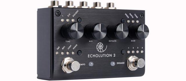 L'Echolution de Pigtronix passe en version 3